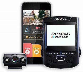 Rexing V1P dashcam