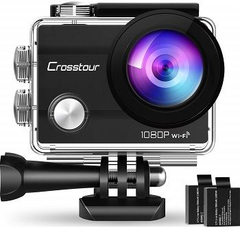 Crosstour Waterproof Wi-Fi Bike Camera CT7000