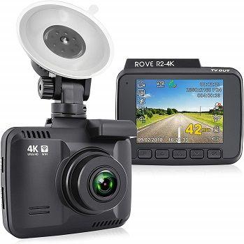 Rove R2-4K Dash Cam Built in WiFi GPS