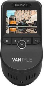 Vantrue S1 Dash Cam with Built-in GPS Speed
