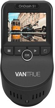 Vantrue S1 Dash Cam with Built-in GPS Speed