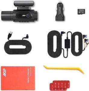 AQP 4K Dual Dash Cam review