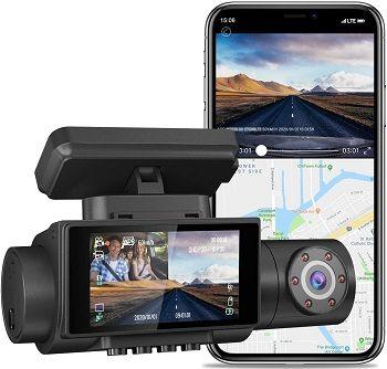 AQP 4K Dual Dash Cam