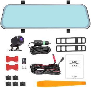 Akaso Mirror Dash Camera review