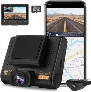 Aqp 4k Dual Dashcam