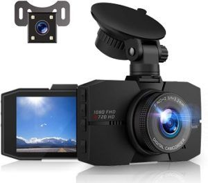 Campark Dashcam Front and Rear