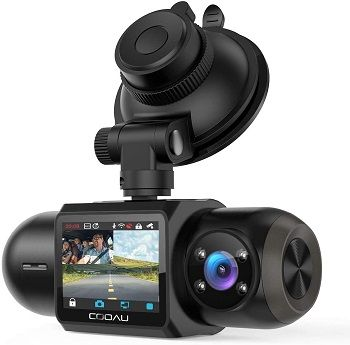 Cooau Uber DualDash Cam