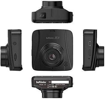 KDLINKS X3 Super HD Dashboard Car DVR Cam review