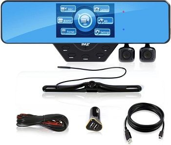 Pyle Newest Technology HD 3 Camera Dashcam review