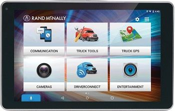 Rand Mcnally Overdrive Truck GPS Tablet With Dash Cam