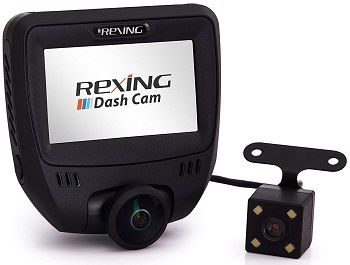 Rexing V360 Dual Channel Dashboard Camera