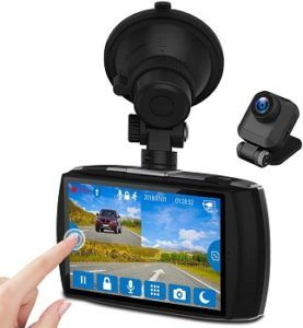 Z-Edge Front And Rear Dash Cam